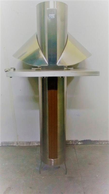 Colarinho e tubo formador